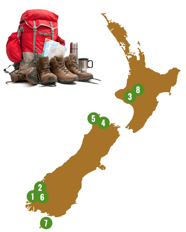 Pick your next New Zealand walk